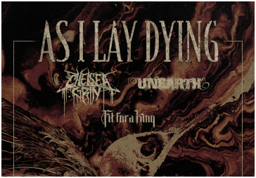 27.09.2019 - Leipzig - AS I LAY DYING