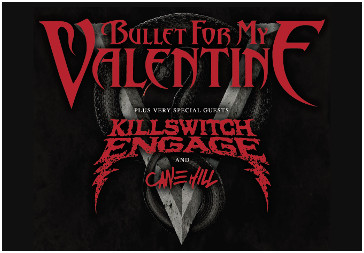 12.11.2016 - Leipzig - BULLET FOR MY VALENTINE